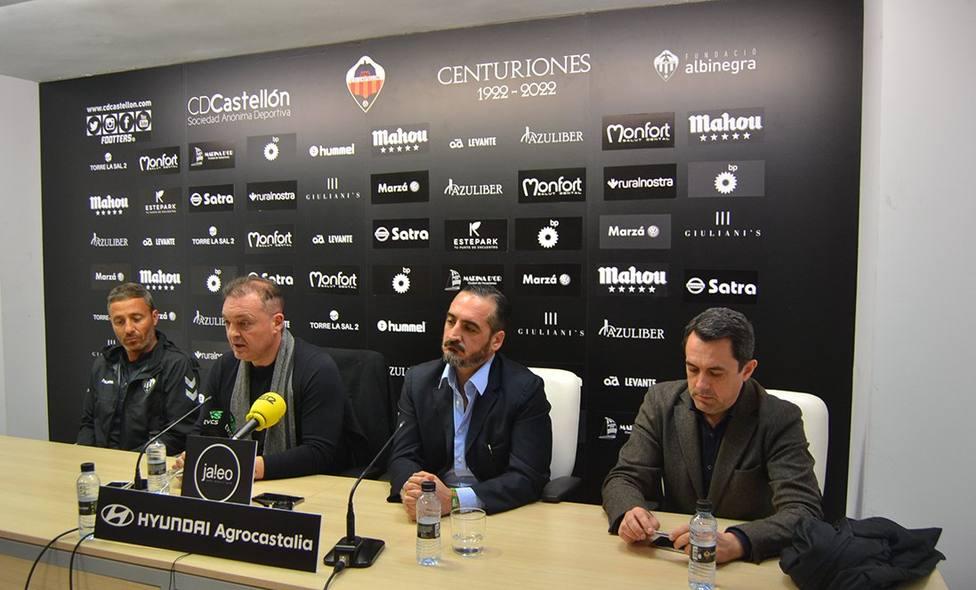 Garrido y Montesinos confían plenamente en la salvación del Castellón