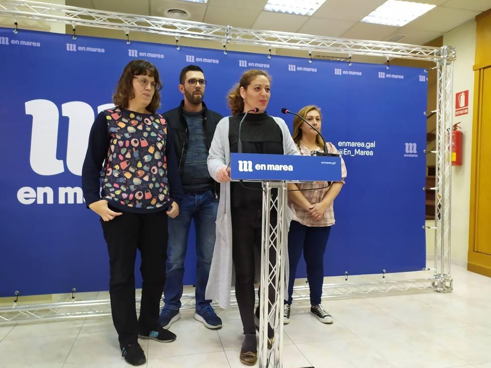 La dirección de En Marea pide a los diputados críticos que renuncien a su acta si no aceptan su propuesta de senadora