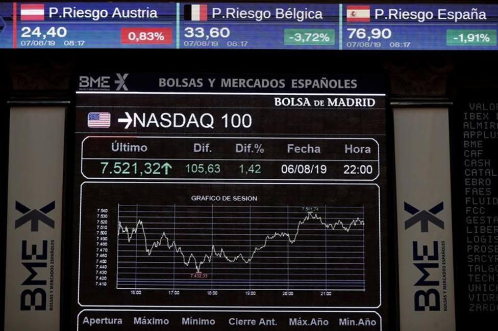 La Bolsa consolida la reacción de ayer y se acerca a los 8.900 puntos