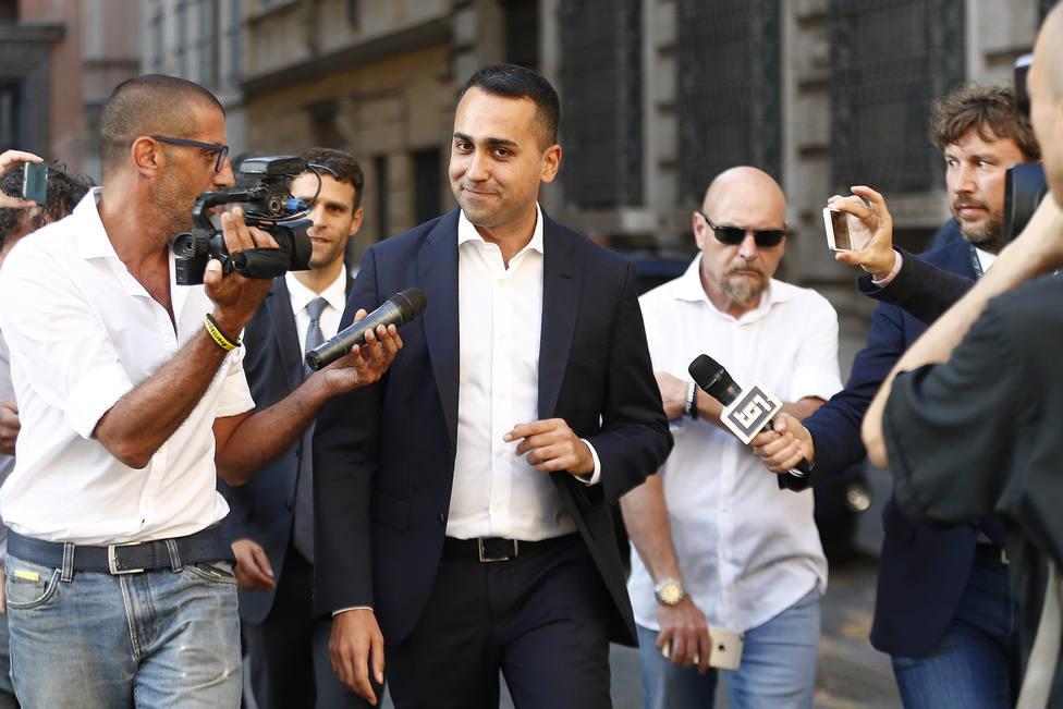 Di Maio acusa a Salvini de guiarse por las encuestas: Intentan justificar una decisión que es puro egoísmo