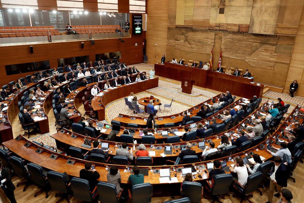 Así será la sesión en la que Ayuso saldrá elegida presidenta de la Comunidad de Madrid