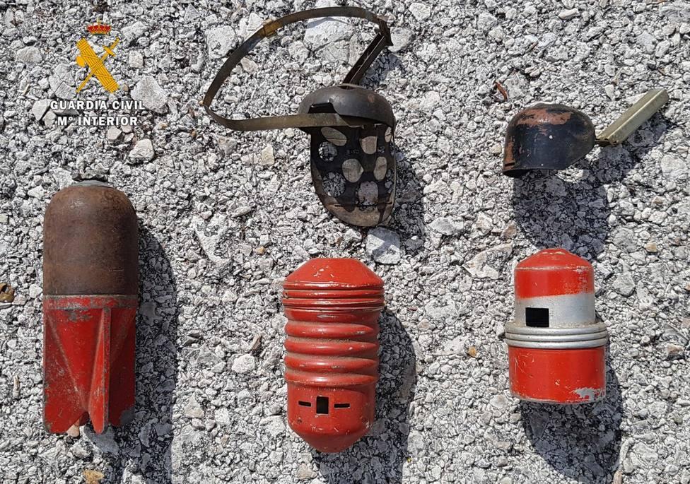 Localizadas granadas en una casa de Potes