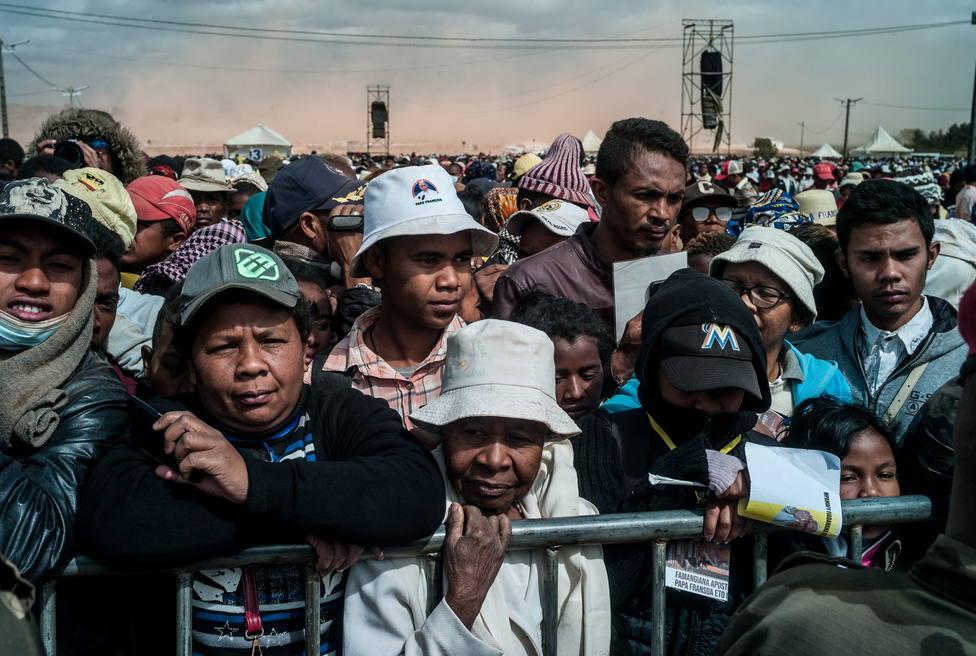 Última visita del Papa en su viaje apostólico a África: Isla Mauricio