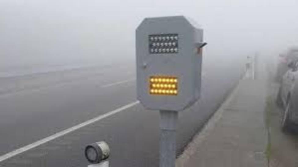 La niebla obliga a cortar la circulación en la A-8 a la altura de Mondoñedo