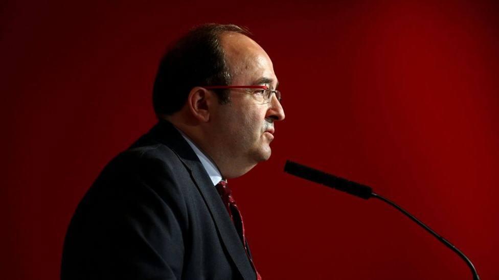 El primer secretario del PSC,Miquel Iceta