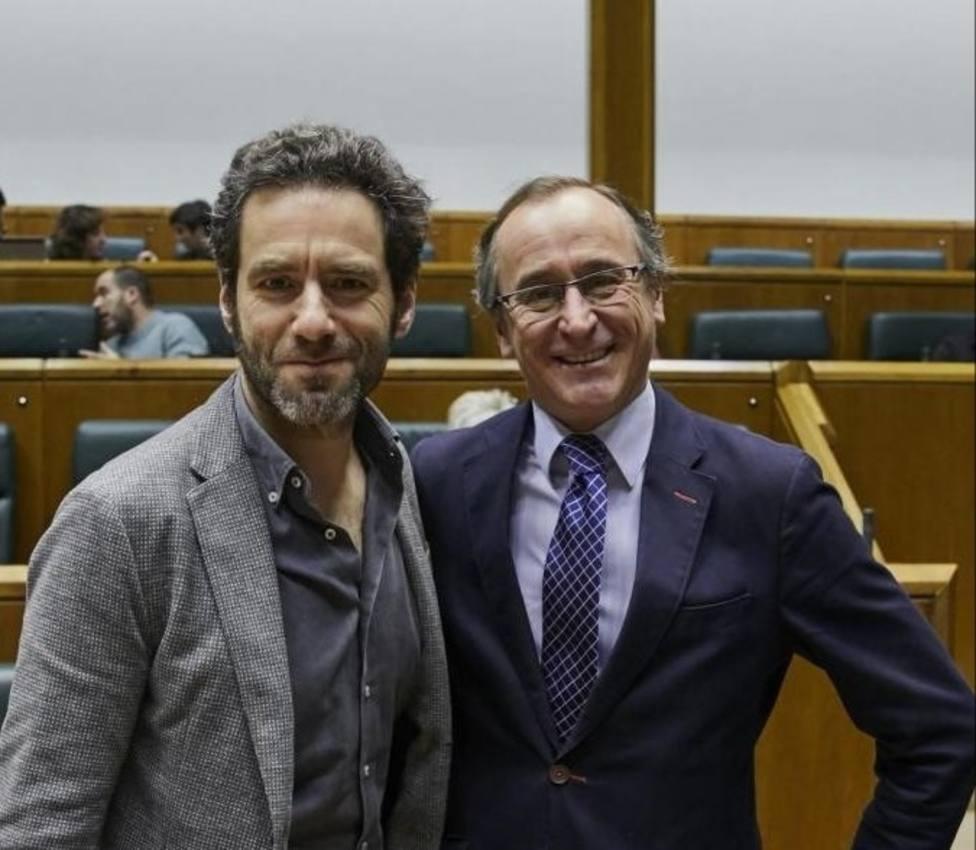 Alonso a Sémper: Ha sido un honor defender contigo un País Vasco más libre