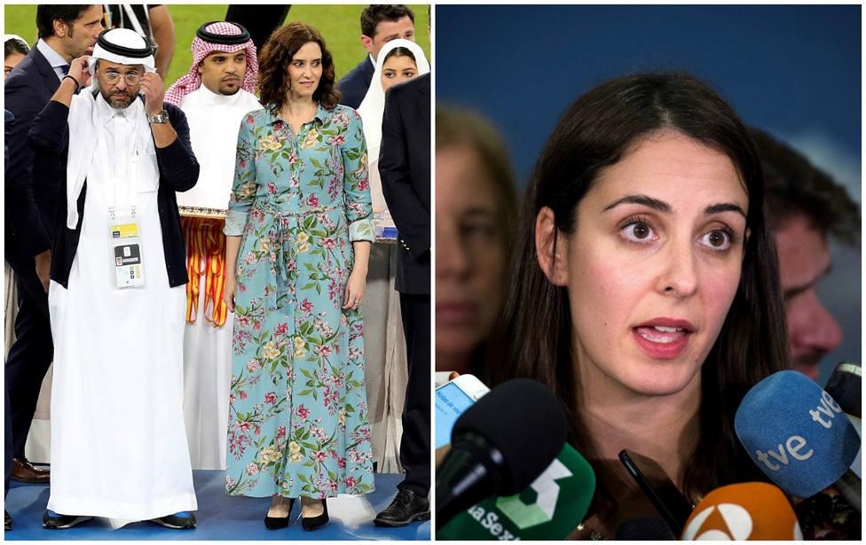 Rita Maestre tilda de patético que Ayuso fuera sin velo a Arabia Saudí