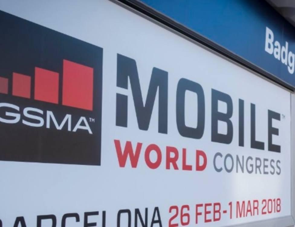 Imagen de archivo del Mobile World Congress de 2018