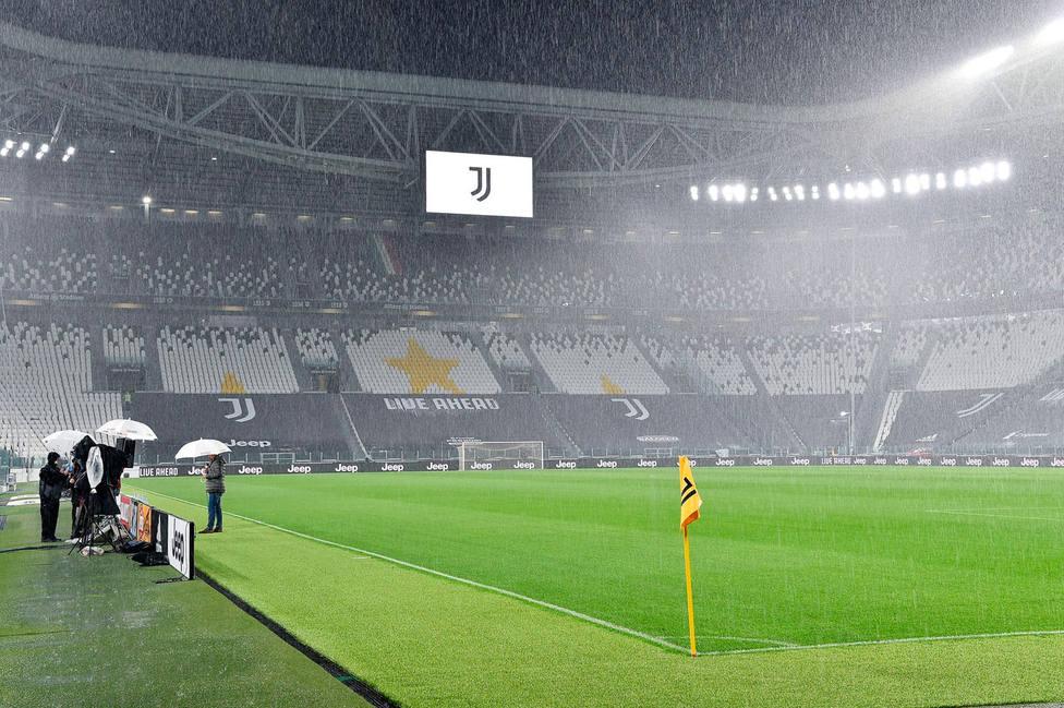 El Juventus Stadium era el escenario para el Juventus-Nápoles (EFE)