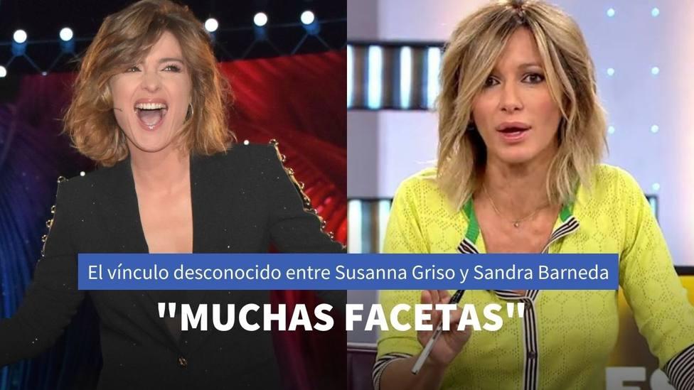 'Espejo Público' revela por primera vez el vínculo secreto entre Sandra Barneda y Susanna Griso