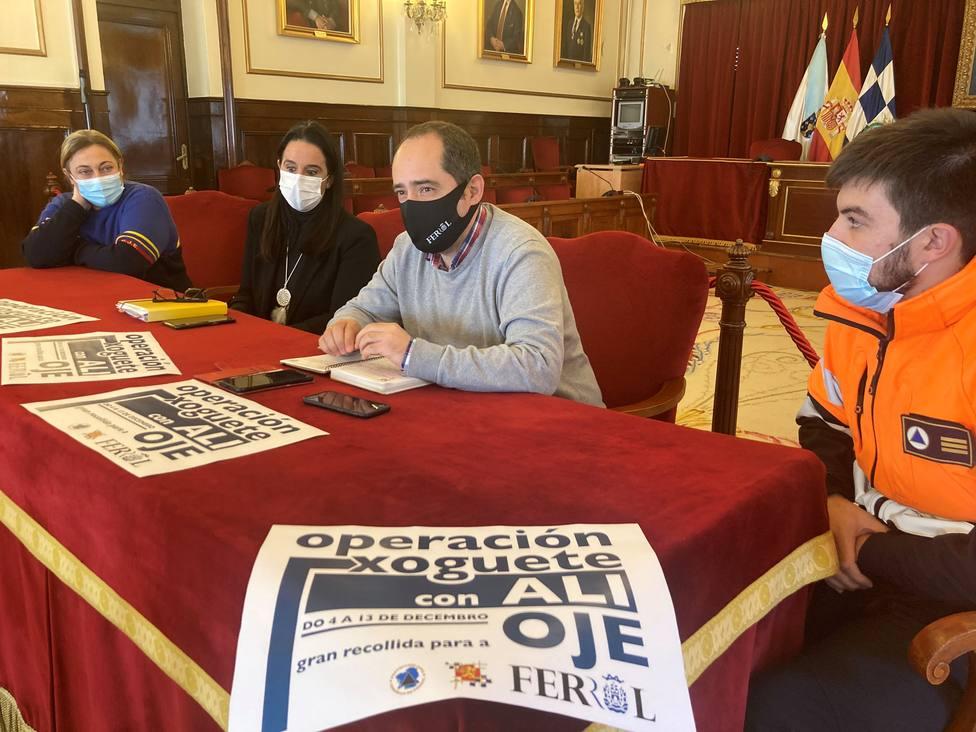 La Operación Juguete de la OJE se llevará a cabo con el concello de Ferrol. FOTO: Concello de Ferrol