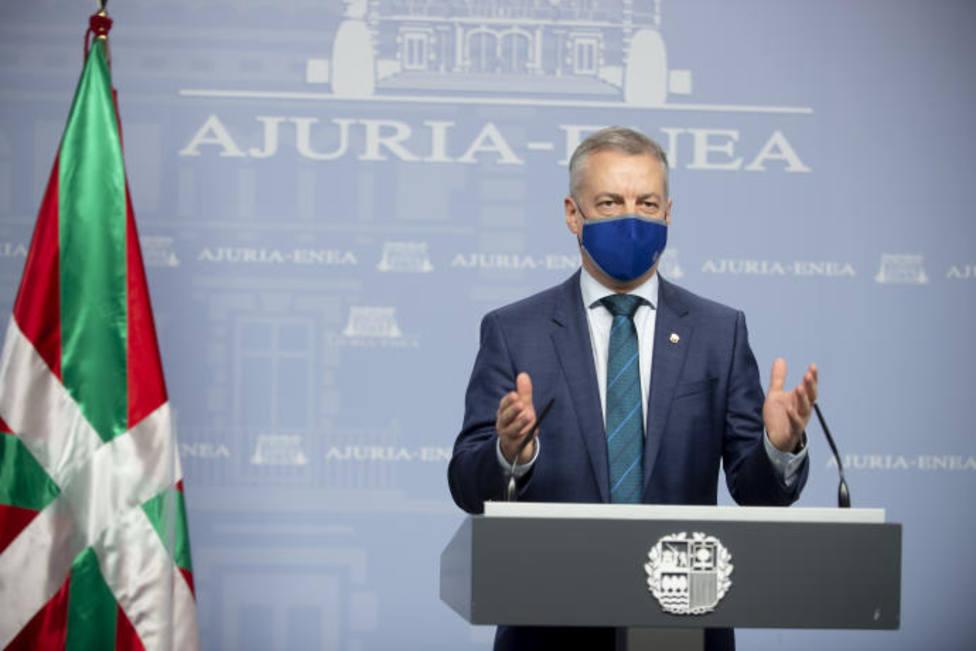 Urkullu pide hablar en euskera para hacer frente al COVID-19