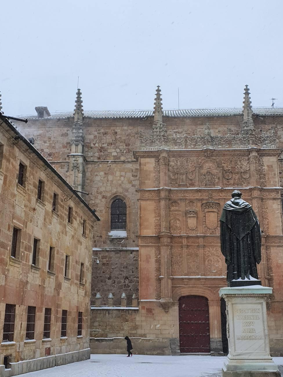 Patio de la Universidad de Salamanca