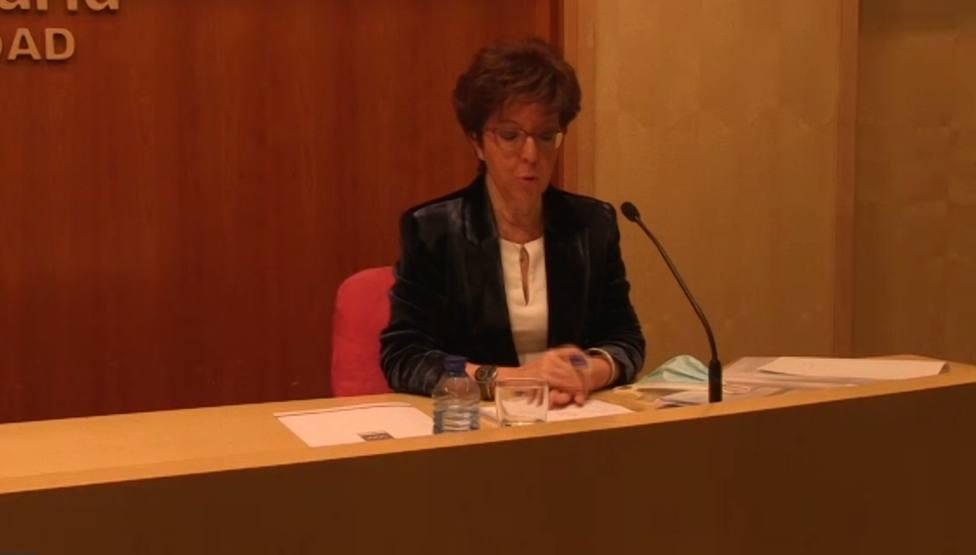 Elena Andradas, directora general de Salud Pública