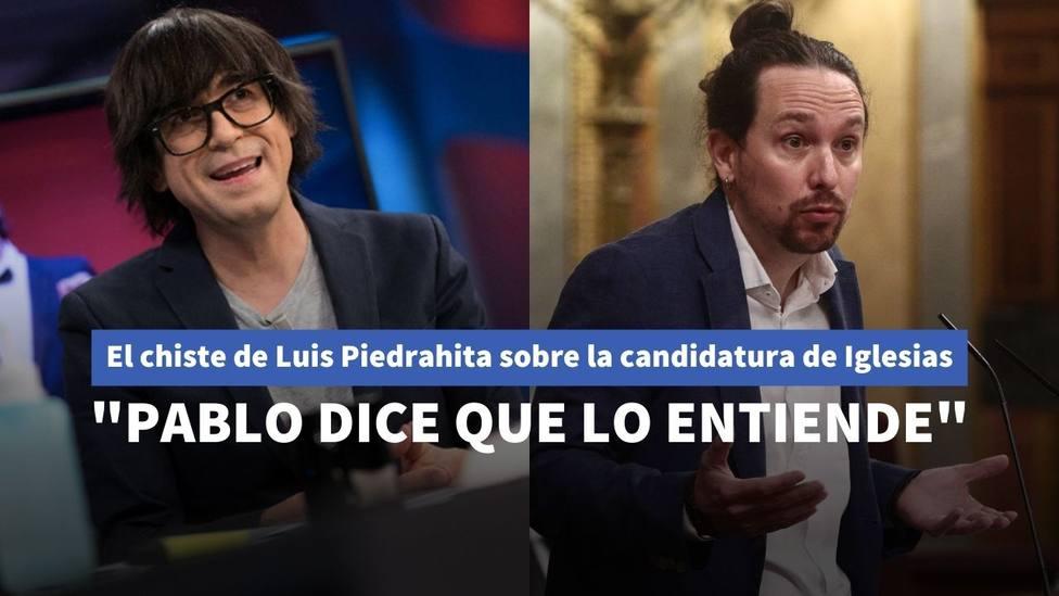 Luis Piedrahita y Pablo Iglesias