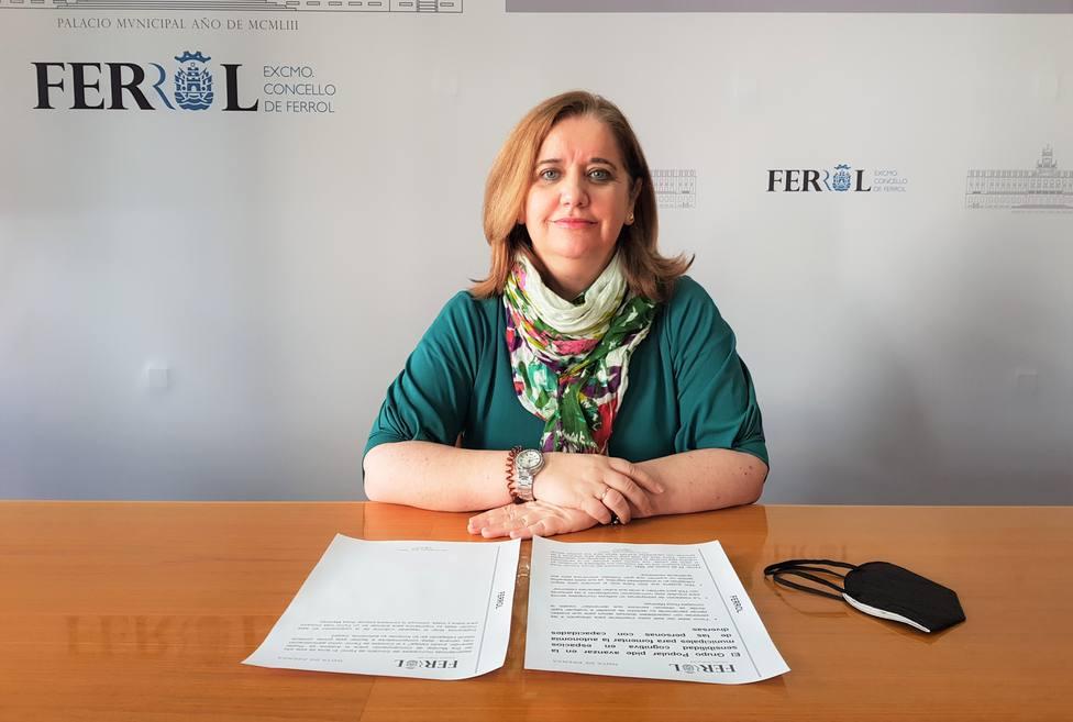 Rosa Martínez Beceiro, concejala del PP en Ferrol. FOTO: PP Ferrol