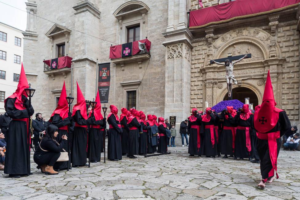 Procesión del Santísimo Cristo de la Luz de la Semana Santa de Valladolid