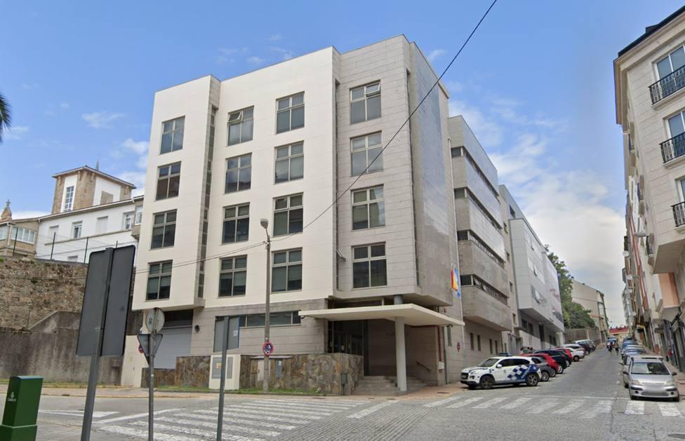 Foto de archivo del edificio de los juzgados de Ferrol