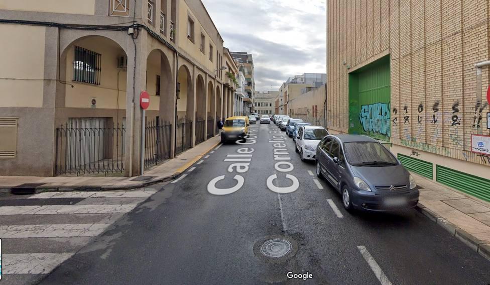 Calle Lucio Cornelio Balbo de Cáceres