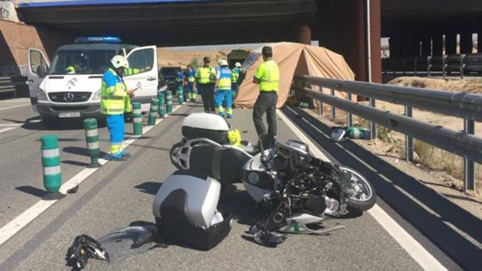 Accidente por salida de vía: cuestión de vida o muerte para el motociclista