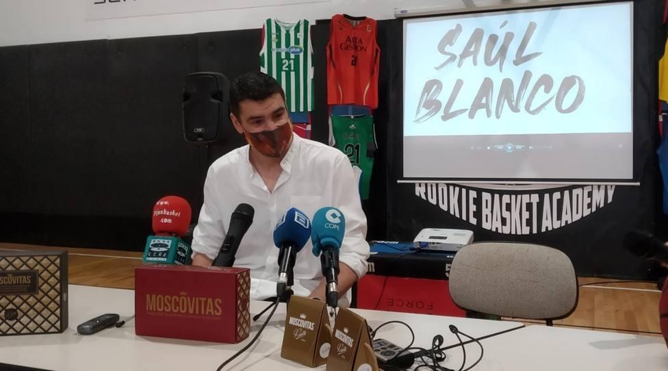 Saúl Blanco se despide del baloncesto