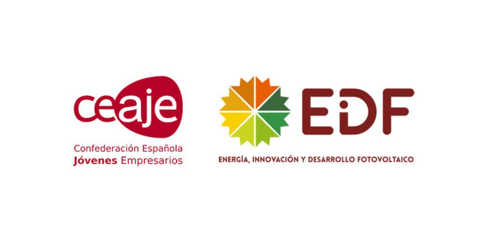 Acuerdo de colaboración entre EiDF Solar y CEAJE para promover la energía fotovoltaica