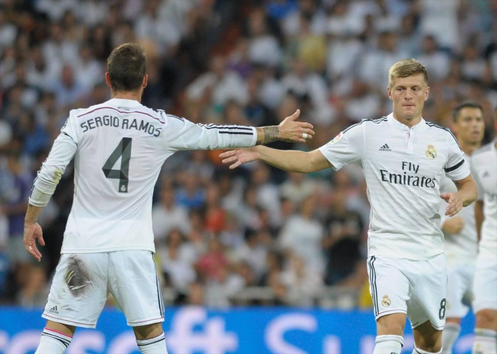 Sergio Ramos y Toni Kroos