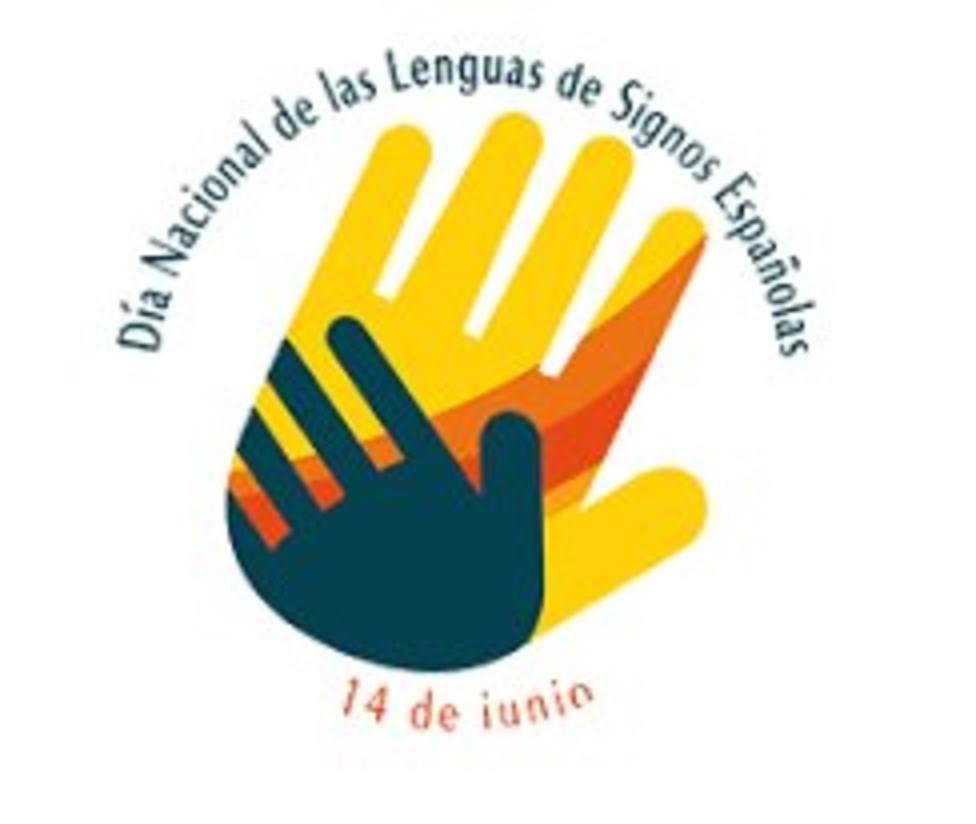 Logotipo Día Lengua de Signos