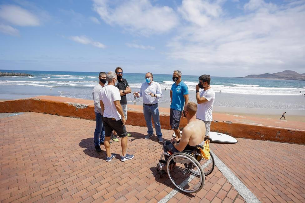 Las Palmas de Gran Canaria aspira a ser Reserva Mundial de Surfing este 2021