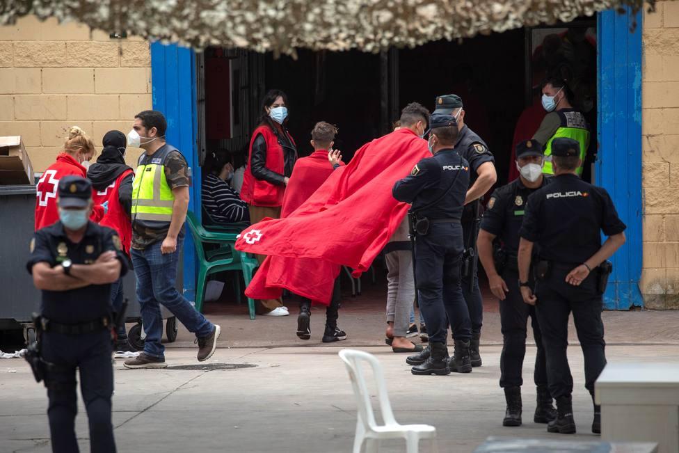 Un total de 2.581 marroquíes han recibido atención sanitaria tras la entrada masiva en la ciudad de Ceuta