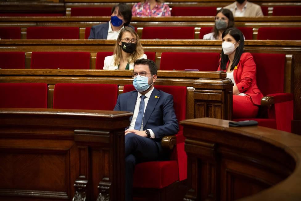 Aragonès critica la Conferencia de Presidentes y dice que los fondos no se deciden en 5 minutos