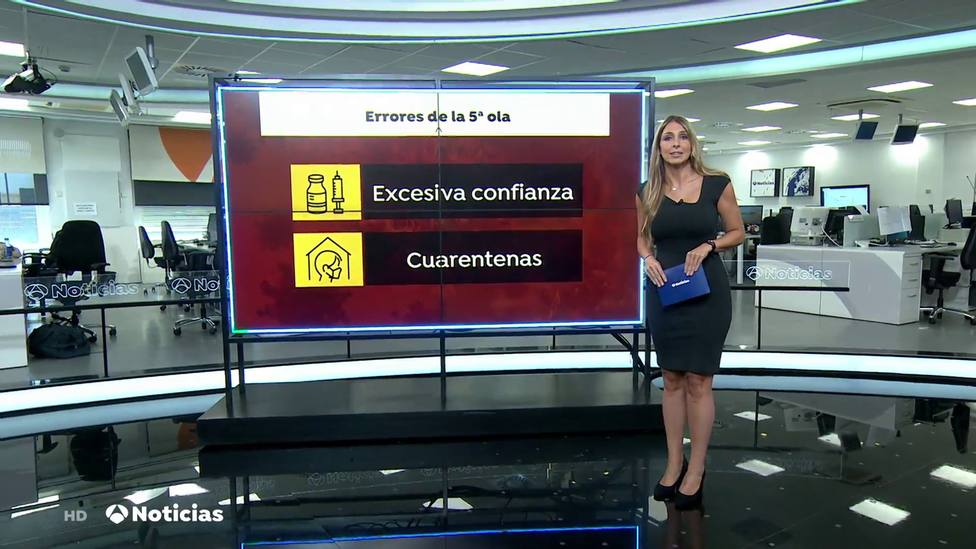 El detalle en el rótulo de Antena 3 Noticias que incendia las redes: Sois basura