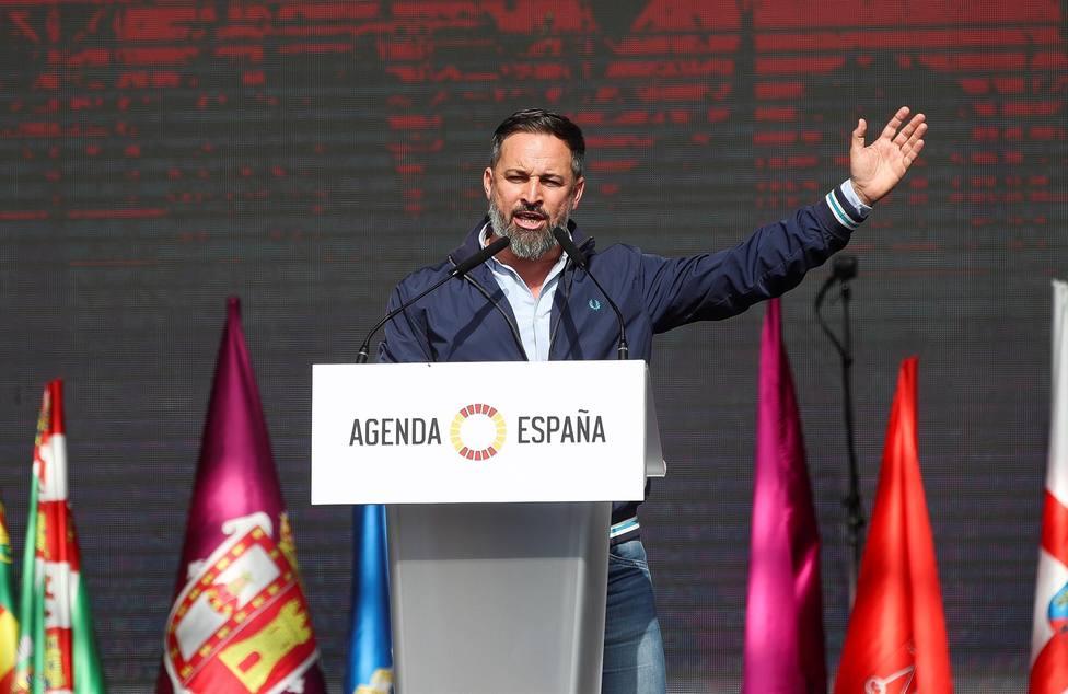 Abascal vaticina que Casado nunca llegará a ningún gobierno