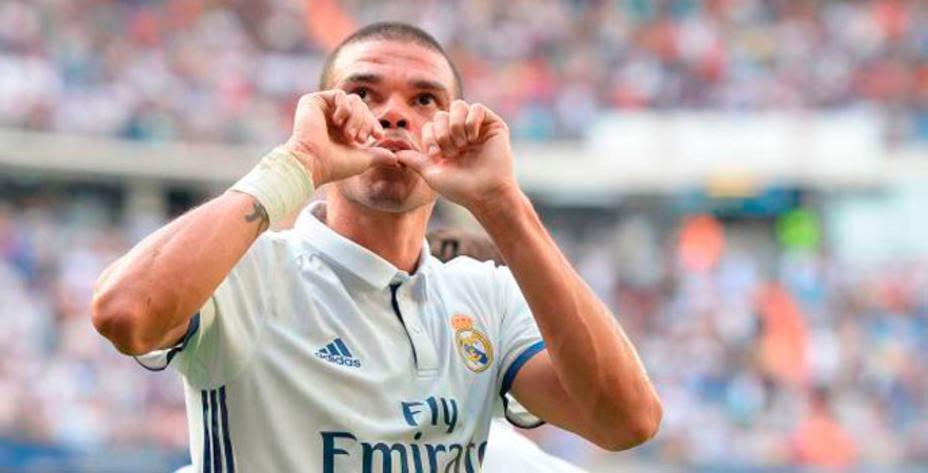 Pepe dejará el Real Madrid el próximo 30 de junio cuando acabe su actual contrato. @LaLiga.