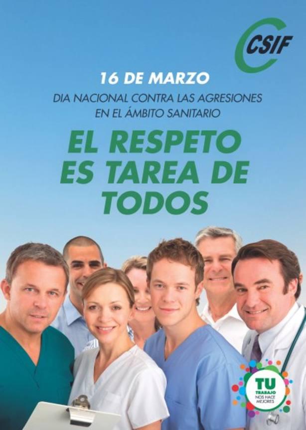 Día nacional contra agresiones a sanitarios