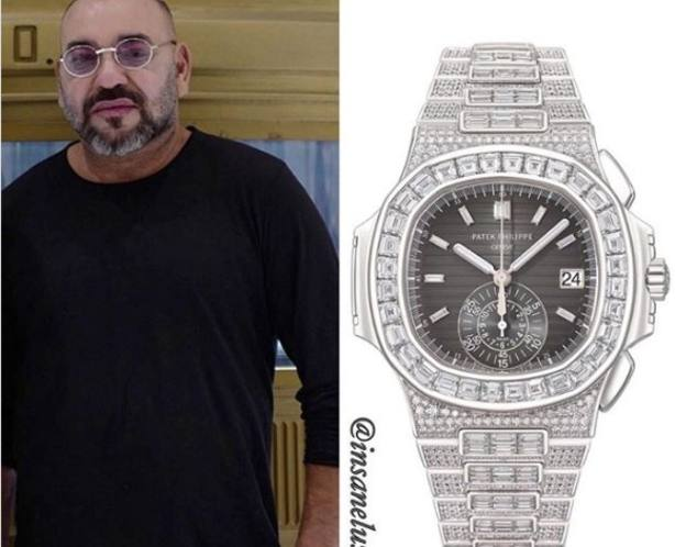 El reloj de mil diamantes de Mohamed VI que cuesta 1,2 millones de dólares