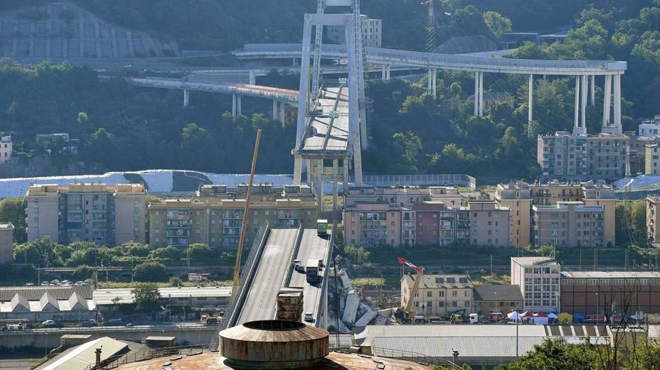 Calatrava opta a la reconstrucción del puente derrumbado de Génova