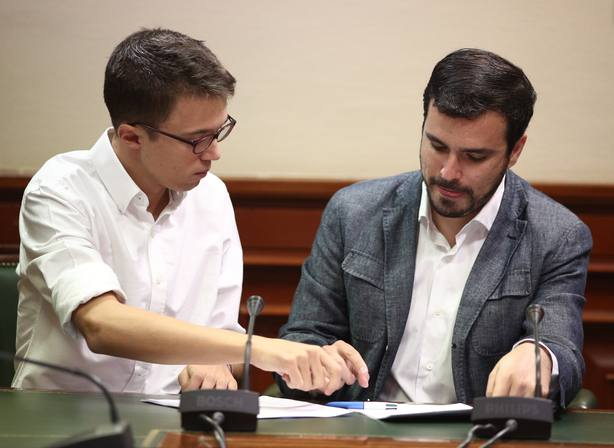 Alberto Garzón advierte que hay diferencias con Más Madrid que pueden ser insalvables y apunta a dos listas