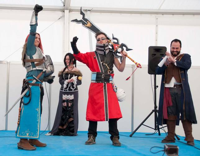 Concurso de Cosplay en la Feria del Cómic y Fandom / FOTO: www.cosplayfusionfreak.com