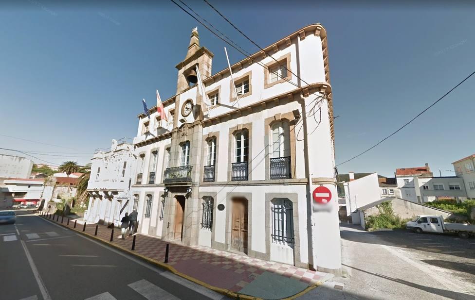 Fachada del Ayuntamiento de Mugardos