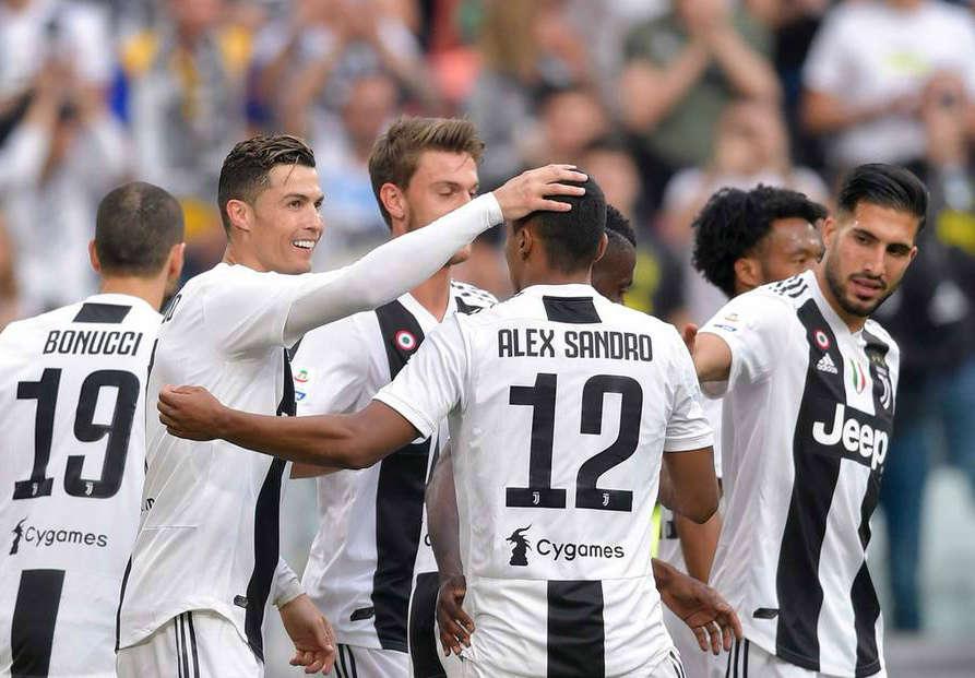 La Juventus de Cristiano Ronaldo conquista su octavo Scudetto consecutivo