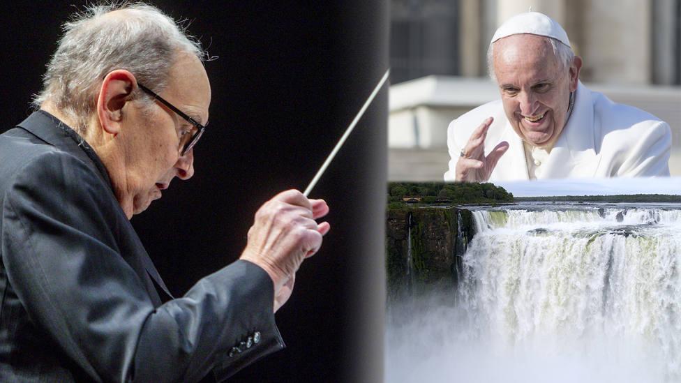 Ennio Morricone reconoce haber llorado tras ver La Misión sin sonido y conocer al Papa Francisco