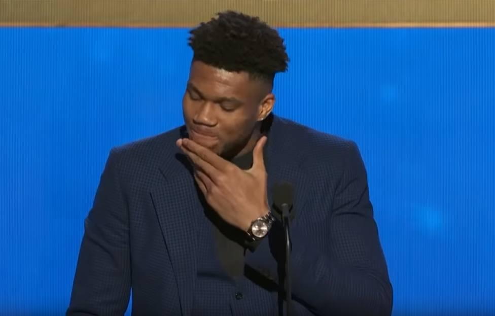 El emocionante discurso de Giannis Antetokounmpo tras ganar el MVP de la NBA