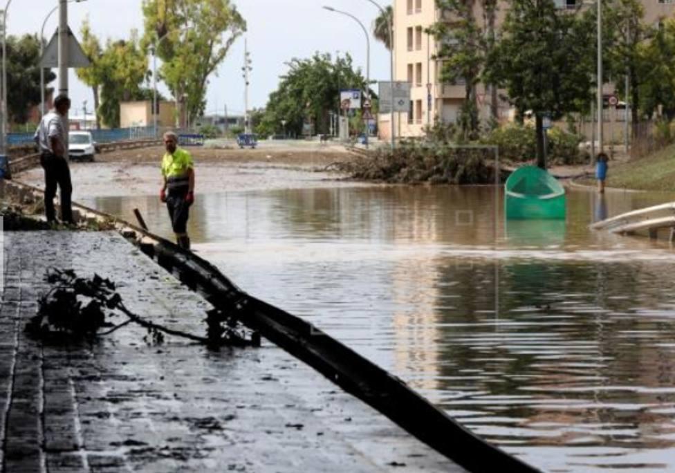 Las fuertes lluvias de Cataluña dejan inundaciones y cortes de carretera