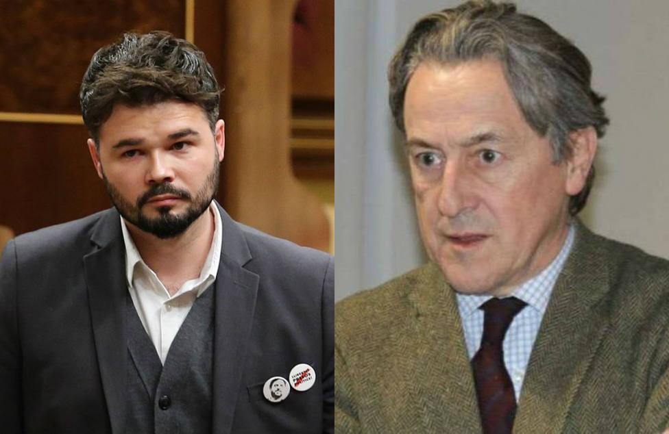 Hermann Tertsch deja K.O a Gabriel Rufián por sus palabras sobre el instituto independentista Nova Història