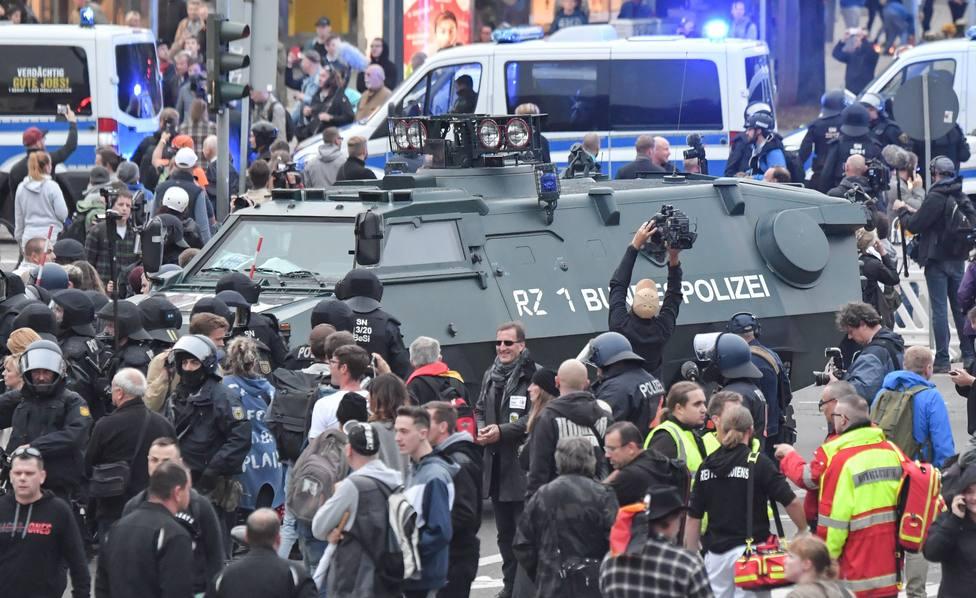 Condenado a nueve años de cárcel el autor del apuñalamiento que desató protestas xenófobas en Chemnitz (Alemania)