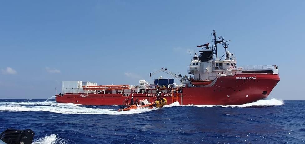 El Ocean Viking rescata a otras 73 personas frente a las costas de Libia
