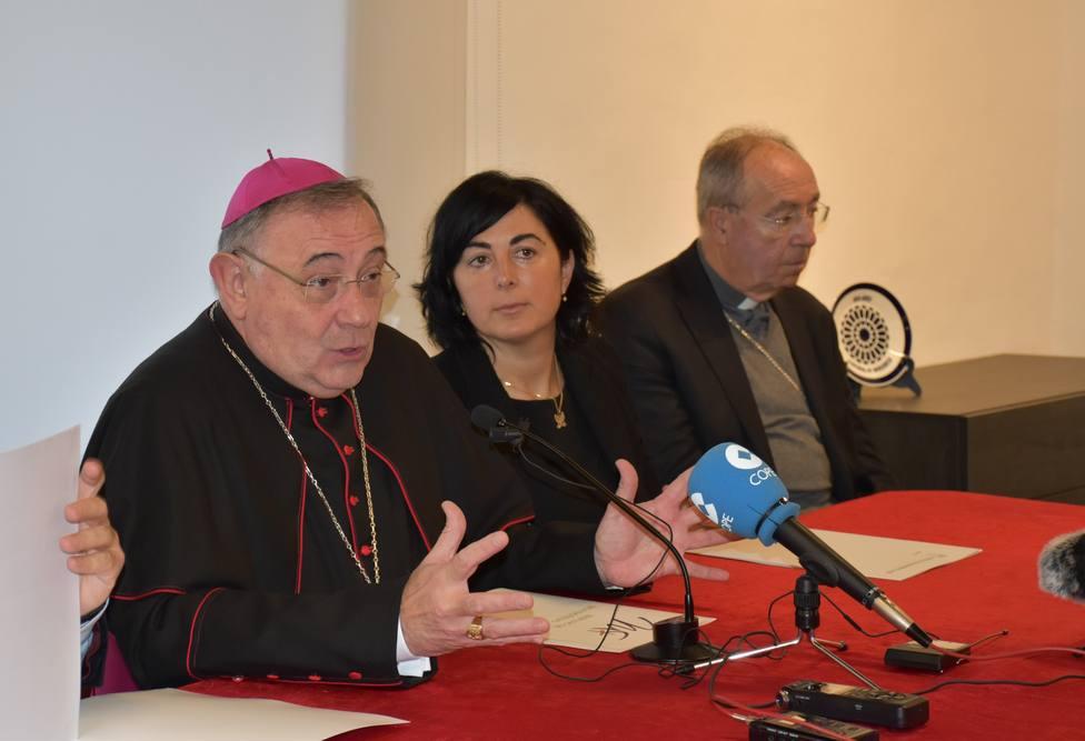 El obispo Luis Ángel de las Heras