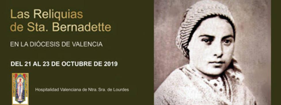 Visita reliquias santa Bernardette