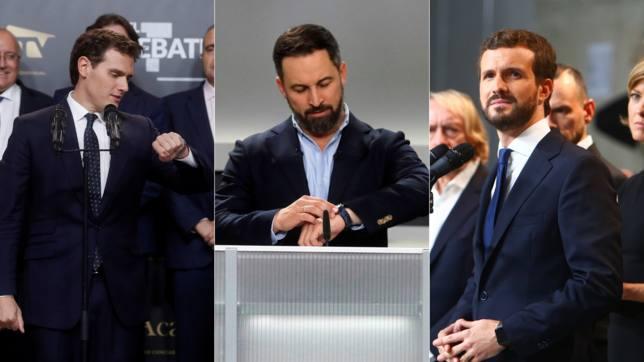 Por qué la izquierda, Sánchez e Iglesias, no llevaron reloj